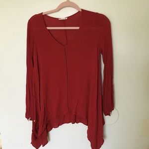 Red Soprano Top